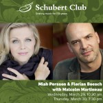 Miah Persson & Florian Boesch with Malcolm Martineau
